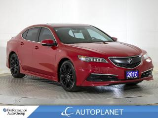 Used 2017 Acura TLX AWD, Tech, A-Spec, Navi, Sunroof, ELS Sound! for sale in Brampton, ON
