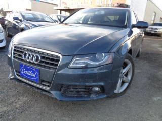 Used 2010 Audi A4 4dr Sdn Auto quattro 2.0T Premium for sale in Brampton, ON
