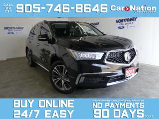 Used 2018 Acura MDX ELITE   AWD   DVD   LEATHER   ROOF   NAV   7 PASS for sale in Brantford, ON