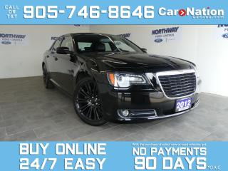Used 2012 Chrysler 300 S | LEATHER |ROOF|NAV |BEATS AUDIO|BRAND NEW TIRES for sale in Brantford, ON