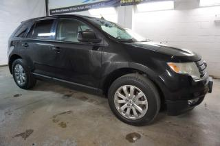Used 2010 Ford Edge SEL PLUS AWD DVD CERTIFIED 2YR WARRANTY *1 OWNER*FREE ACCIDENT* HEATED LEATHER CHROME PANO ROOF for sale in Milton, ON