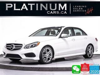 Used 2014 Mercedes-Benz E-Class E350 4MATIC, AWD, CAM, NAV, HEATED, 360CAM, PANO for sale in Toronto, ON