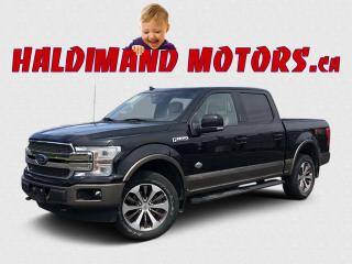 Used 2018 Ford F-150 King Ranch CREW FX4 4WD for sale in Cayuga, ON