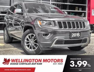 Used 2015 Jeep Grand Cherokee Limited   4x4   Navigation   Remote Start   for sale in Guelph, ON