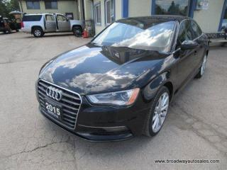 Used 2015 Audi A3 ALL-WHEEL DRIVE PREMIUM EDITION 5 PASSENGER 2.0L - DOHC.. NAVIGATION.. LEATHER.. HEATED SEATS.. POWER SUNROOF.. BLUETOOTH SYSTEM.. for sale in Bradford, ON