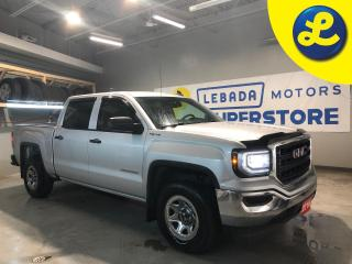 Used 2016 GMC Sierra 1500 Crew Cab 4X4 5.3L V8 * 6 Passenger * Cruise Control * Back Up Camera * On Star * AM/FM/SXM/USB/Aux/BT * Phone Projection * Vinyl Floors * Keyless Entr for sale in Cambridge, ON