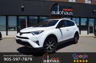 Used 2017 Toyota RAV4 SE I NAVI I LEATHER I SUNROOF I AWD for sale in Concord, ON
