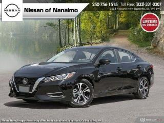 New 2021 Nissan Sentra SV for sale in Nanaimo, BC