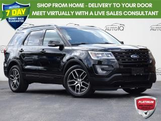 Used 2017 Ford Explorer Sport 4WD   3.5L V6   A/C   NAVIGATION for sale in Waterloo, ON