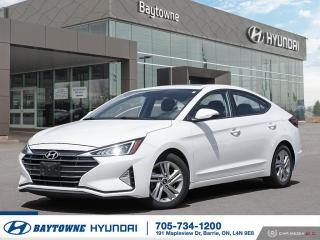 Used 2019 Hyundai Elantra Preferred at Sun and Safety for sale in Barrie, ON