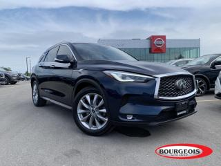 Used 2019 Infiniti QX50 ESSENTIAL NAVIAGTION, 360 CAMERA, SUNROOF for sale in Midland, ON