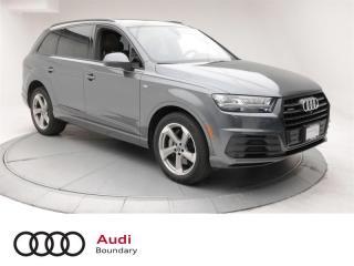 Used 2018 Audi Q7 3.0T Technik quattro 8sp Tiptronic for sale in Burnaby, BC