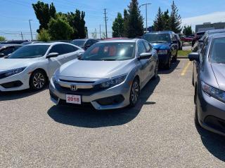 Used 2018 Honda Civic Sedan EX for sale in Waterloo, ON
