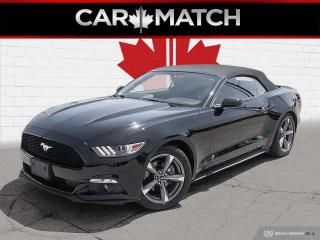 Used 2016 Ford Mustang V6 / CONVERTIBLE / NO ACCIDENTS for sale in Cambridge, ON