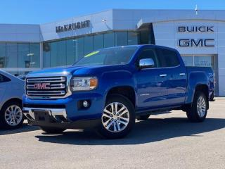 Used 2018 GMC Canyon 4WD SLT   Heated Seats   Remote Start   for sale in Winnipeg, MB