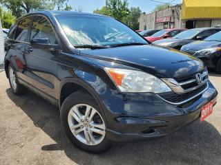 Used 2011 Honda CR-V EXL/NAVI/CAMERA/LEATHER/ROOF/LOADED/ALLOYS for sale in Scarborough, ON