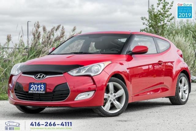 2013 Hyundai Veloster 6 Speed Heated seats Push to start Cruise 