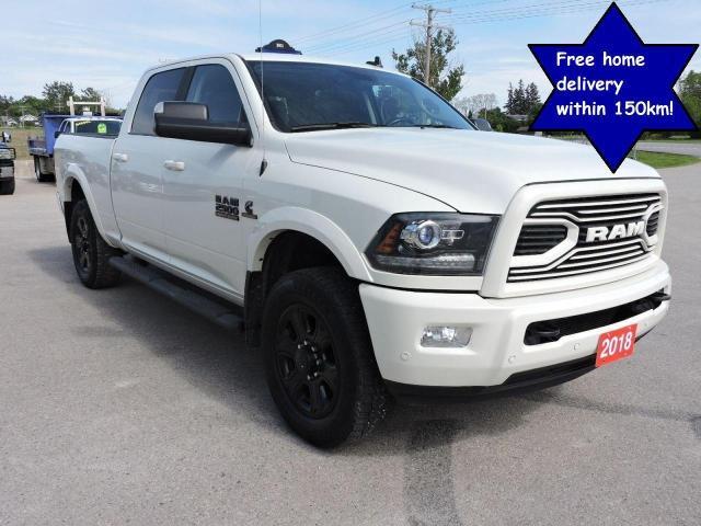 2018 RAM 2500 Laramie Diesel 4X4  Air suspension Only 98000 km