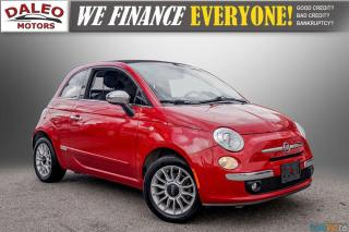 Used 2012 Fiat 500 LOUNGE / CONVERTIBLE / LEATHER for sale in Hamilton, ON