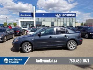 Used 2009 Mazda MAZDA3 GX/6SPD/SUNROOF/POWER OPTIONS for sale in Edmonton, AB