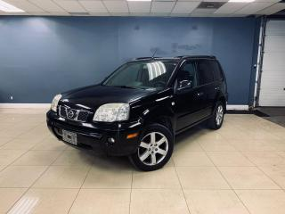 Used 2006 Nissan X-Trail No accident AWD Leather Heated Seat Sunroof OnSale for sale in North York, ON