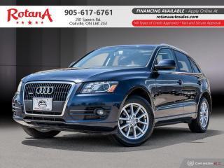 Used 2011 Audi Q5 3.2L Premium_w/NAVI/DVD/REAR CAM/BLIND SPOT SENSOR for sale in Oakville, ON