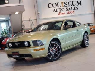Used 2005 Ford Mustang GT-COUPE-5 SPEED MANUAL-20 INCH CHROME WHEELS for sale in Toronto, ON