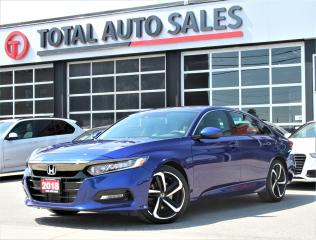 Used 2018 Honda Accord Sport 2.0T   Sport HS   CLEAN CARFAX   ONE OWNER for sale in North York, ON
