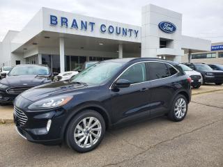 New 2021 Ford Escape Titanium Hybrid for sale in Brantford, ON