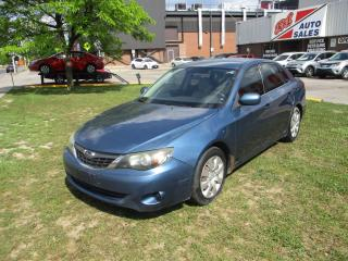 Used 2008 Subaru Impreza 2.5i ~ SEDAN ~ LEATHER ~ AS IS for sale in Toronto, ON
