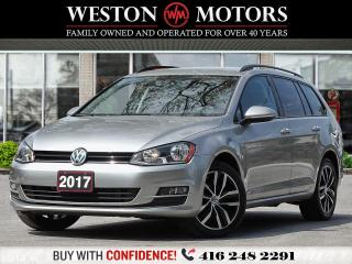 Used 2017 Volkswagen Golf SportWagen LEATHER*HEATED SEATS*REVCAM*PICTURES COMING!!* for sale in Toronto, ON
