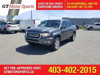 Used 2011 Honda Ridgeline EX - L  W/NAVI 4WD  I $0 DOWN - EVERYONE APPROVED! for sale in Calgary, AB