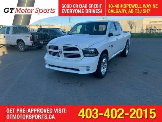 Used 2014 RAM 1500 Sport4X4I HEMI I I $0 DOWN - EVERYONE APPROVED! for sale in Calgary, AB