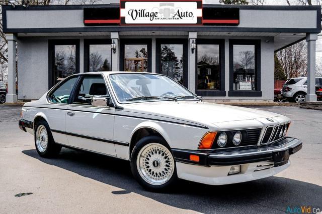 1987 BMW 6 Series 635CSi