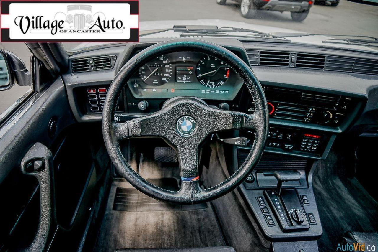 1987 BMW 6 Series