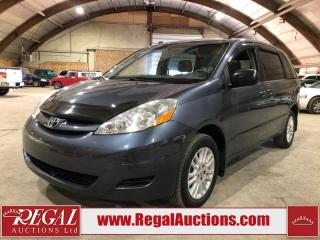 Used 2008 Toyota Sienna CE 4D Wagon AWD for sale in Calgary, AB