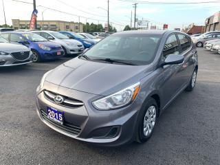 Used 2015 Hyundai Accent GLS for sale in Hamilton, ON