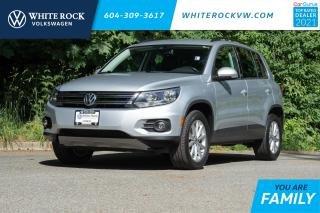 Used 2017 Volkswagen Tiguan Wolfsburg Edition *AUTO HEADLAMPS* *AUTO WIPERS* *VEGAN LEATHER* *KEYLESS ENTRY* 17' NOVARA WHEELS* for sale in Surrey, BC