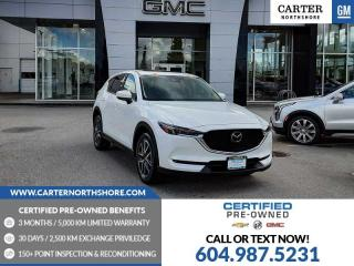Used 2018 Mazda CX-5 GT NAVIGATION - MOONROOF - LEATHER for sale in North Vancouver, BC