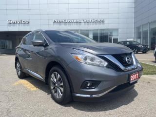 Used 2017 Nissan Murano SL ONE OWNER TRADE. CLEAN CARFAX WITH ONLY 47563 KMS. for sale in Toronto, ON