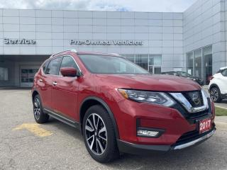 Used 2017 Nissan Rogue SL Platinum ONE OWNER TRADE WITH ONLY 33364 KMS. CLEAN CARFAX! for sale in Toronto, ON