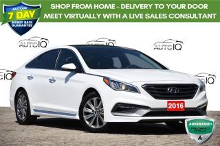 Used 2016 Hyundai Sonata Sport Tech SPORT TECH | NAVI | PANORAMIC SUNROOF | for sale in Kitchener, ON