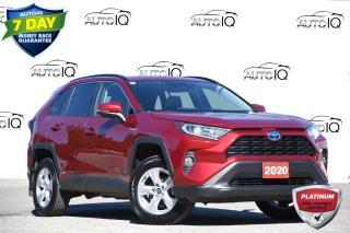 Used 2020 Toyota RAV4 Hybrid XLE HYBRID | NAVIGATION | MOONROOF for sale in Kitchener, ON