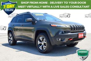 Used 2014 Jeep Cherokee Trailhawk ONE OWNER for sale in Grimsby, ON