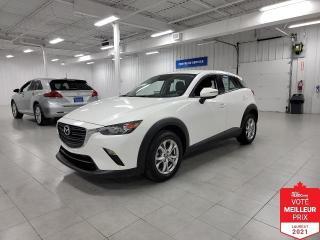 Used 2019 Mazda CX-3 GS AWD - CAMERA + S. CHAUFFANTS + JAMAIS ACCIDENTE for sale in Saint-Eustache, QC