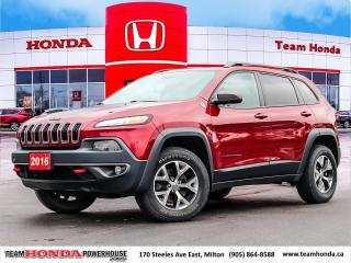 Used 2016 Jeep Cherokee Trailhawk for sale in Milton, ON
