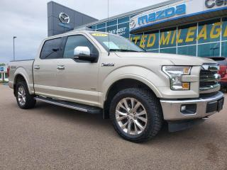 Used 2017 Ford F-150 Lariat SuperCrew | 4x4 | 3.5L Ecoboost for sale in Charlottetown, PE