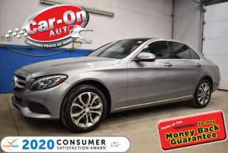 Used 2015 Mercedes-Benz C-Class 4MATIC C300 4 MATIC   PANORAMIC SUNROOF   NAVIGATION   BL for sale in Ottawa, ON
