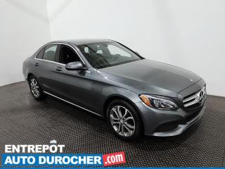 Used 2017 Mercedes-Benz C-Class C 300 - AWD - Bluetooth - Climatiseur - Cuir for sale in Laval, QC