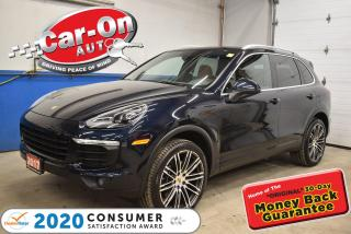 Used 2017 Porsche Cayenne 21'' ALLOYS | PANORAMIC SUNROOF | BOSE AUDIO for sale in Ottawa, ON